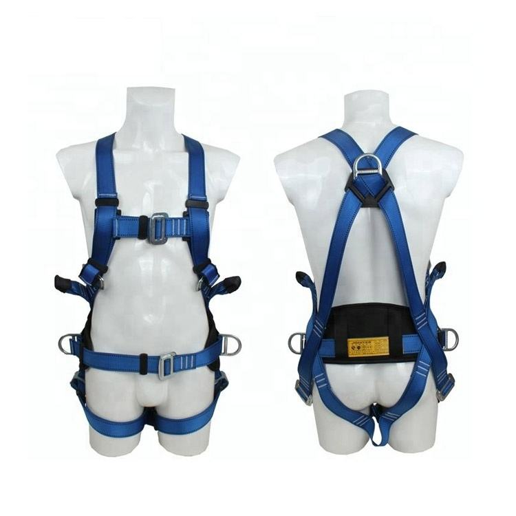 Fall Protection 45Mm Webbing Width Retractable Lifeline Safety Harness