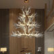 Customized Nordic antler lamps living room branch lamps creative branches decorated cafe shaped acrylic vintage chandeliers