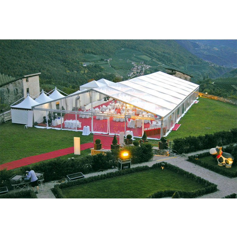 Factory price aluminum frame party wedding event marquee 500 people church tent for sale