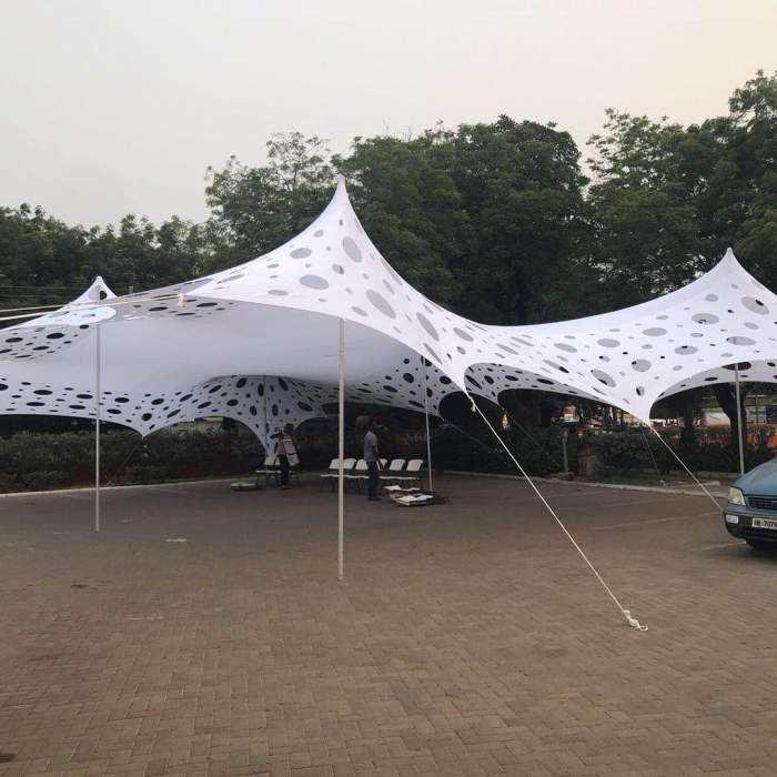 Tùy Chỉnh Không Thấm Nước Vải Lễ Hội Căng Lều Quảng Cáo Thăng Hoa In Ấn Cho Thuê Lều
