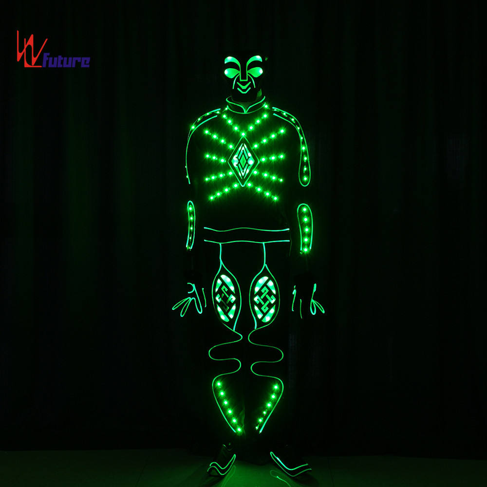 WL-015 remote control Party Light Up Dance LED Dance Costumes Luminous Clothing Tron Costume Stage Performance wear