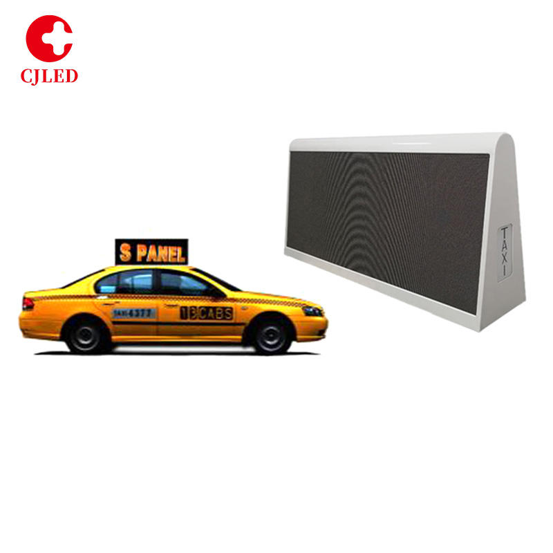 Taxi Top P5 LED Digital Display Volle Farbe 4G WIFI GPS <span class=keywords><strong>Outdoor</strong></span> Taxi Top Moving Werbung <span class=keywords><strong>Billboard</strong></span>