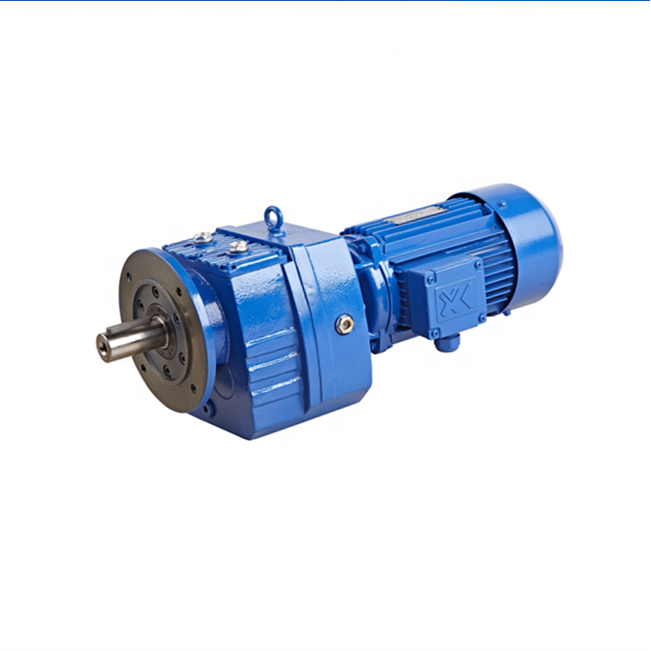 DOFINE R series helical geared reducer without motor