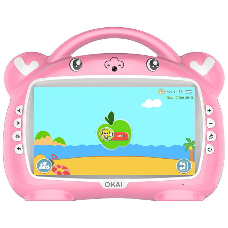 OKAI Latest Intelligent Early Childhood Education Machine Can Customized Children's Learning Robot
