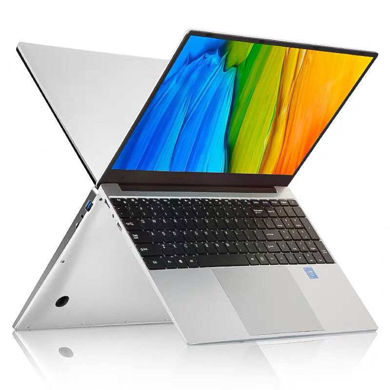 China New Laptops Manufacturer 15.6 Inch IPS Slim Notebook 8GB + 0GB Win10 Intel Core Laptop Computer
