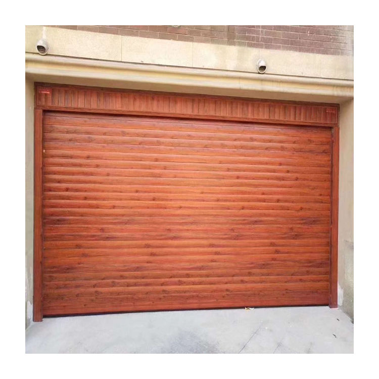 Photoelectric Sensor Galvanized steel quickly rolling garage door