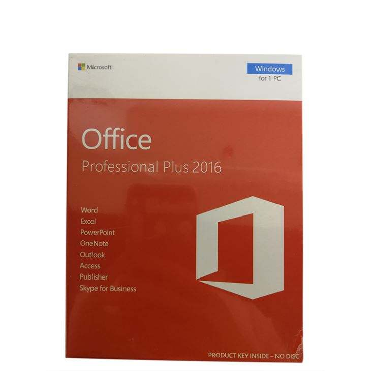 Volle paket büro 2016 professional plus