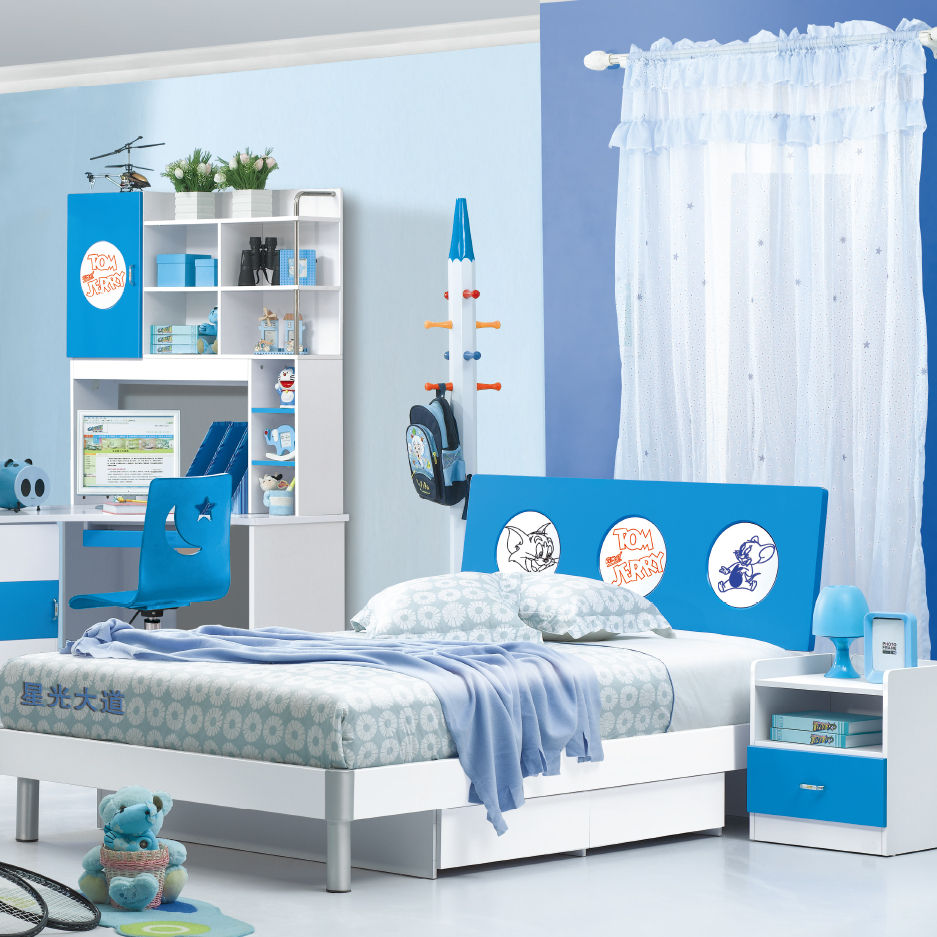 High quality cheap price wooden bed room furniture children bedroom sets/kids furniture bedroom sets