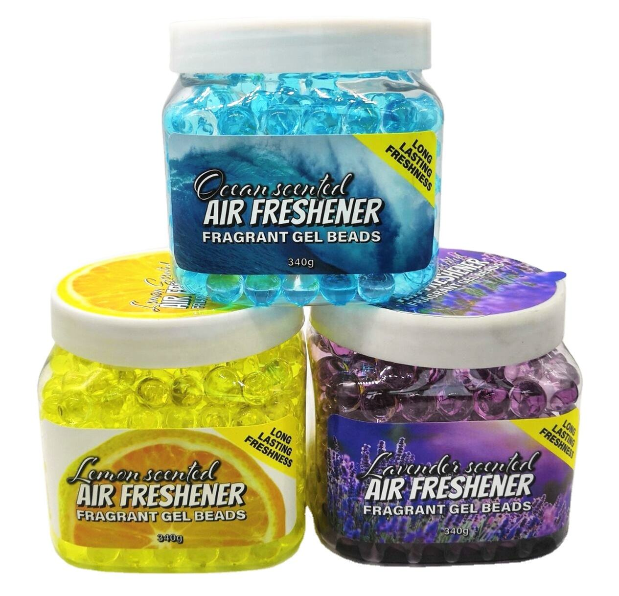 Wholesale car perfume aroma gel air freshener in hotel pet area toile