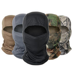 Camouflage Full Face Cover Motorcycle Cycling Hunting Army Bike Military Helmet Liner Tactical Airsoft Cap