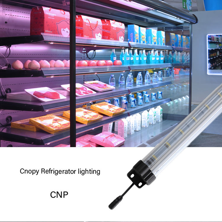 New Design Meat Fridge Light Ledmagnetic Integrate Light Led Price Led Fridge Tube Light(CNP0720P30A)