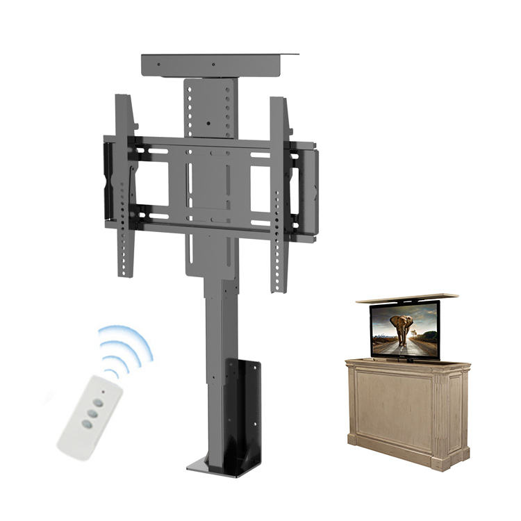 Wholesale Custom Tv Bracket Base Motor Drop-Down Tv Lift Remote Control Motorized Tv Lift Cabinet
