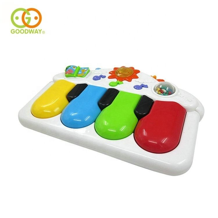funny nontoxic educational plastic baby pedal piano music toys for infants