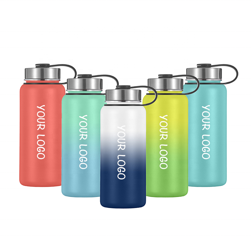 Double Wall Metal Drink Insulated Water Bottle Stainless Steel Bottle