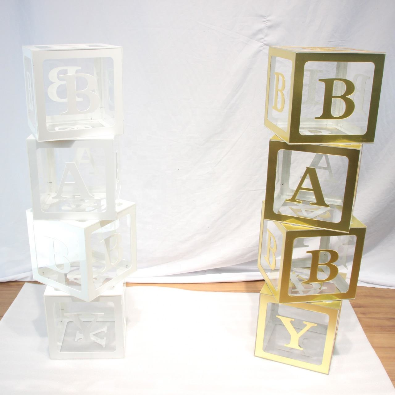 Iangel baby letters acrylic baby blocks baby shower