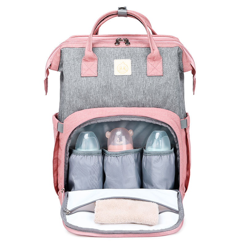 Multifunctional Waterproof Mom Back Pack Nappy Changing Bag Mummy Diaper Backpack Baby Diaper Bag