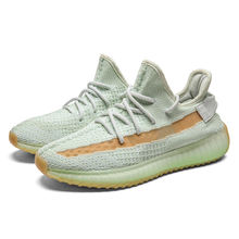 Coconut 350V2 men's shoes angel star burst black warrior reflective terracotta pure white running shoes