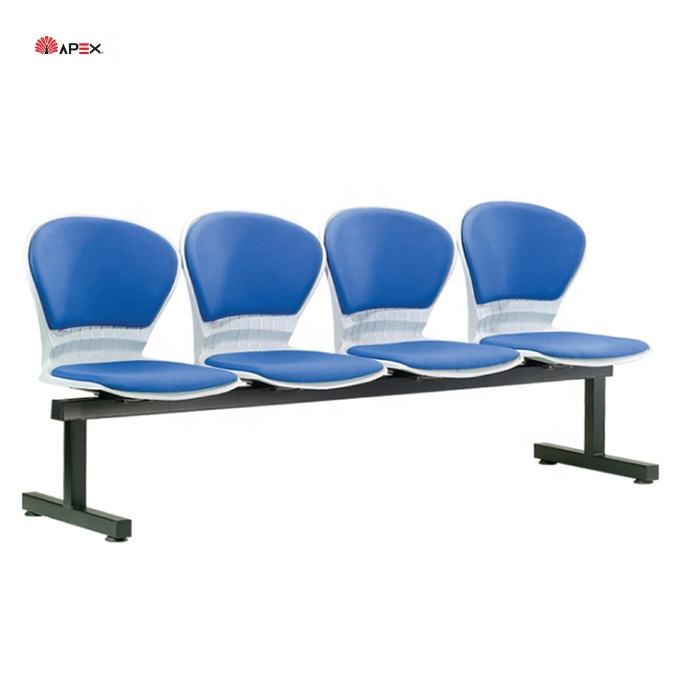 High Quality Different Design Commercial Furniture Office Airport Style Waiting Chairs for Four Seater