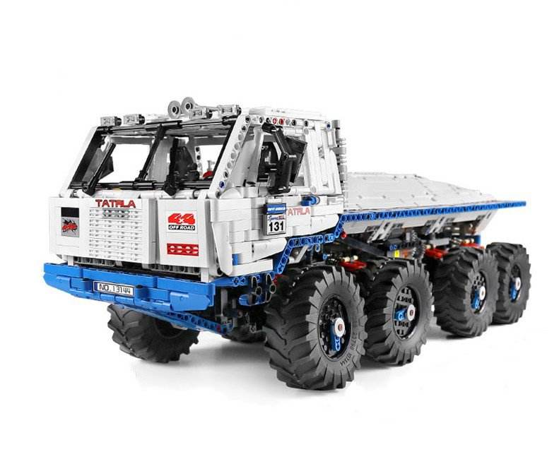 MouldKing 1:8 Technic The Arakawa Moc Tow off-road Truck Tatras 813 8x8 Building Blocks Bricks 27092 kids DIY Toys Birthday gift