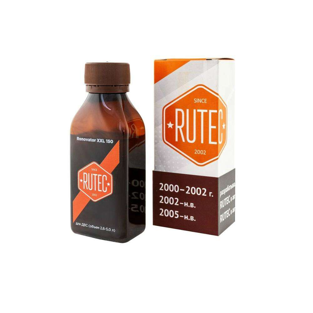 "Anti-Wear Antifriction Additive ""RUTEC"" Renovator XXL 150, For Internal Combustion Engines 2,6-5,0 L, From 150 t. km Engine Oil"
