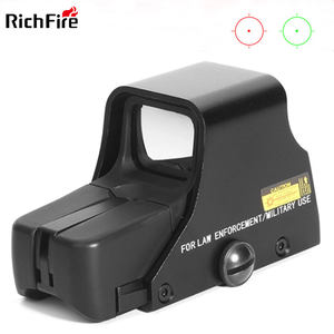 RichFire 551 red dot sight scope quality tactical holographic optics sight