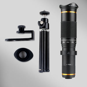 38X Zoom Mobile Phone Lens Telephoto Zoom Phones Camera Lens 4K HD with Tripod