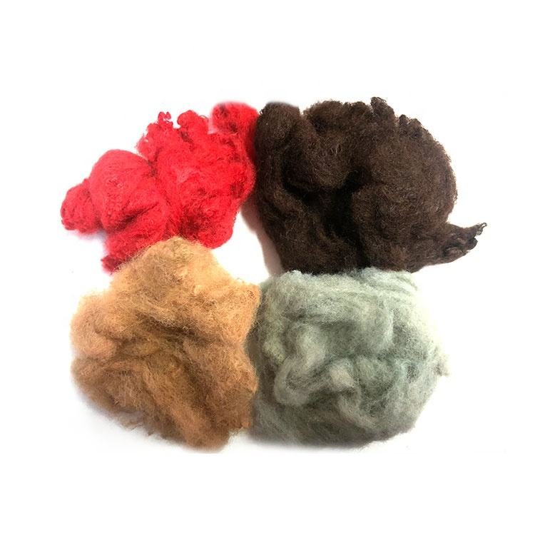 Most Trustworthy Manufacturer Top Standard Wholesale 1.5D~15D Colored Polyester Staple Fiber Price