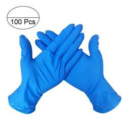 100pcs Per Box Daily Using Power Free Disposable Nitrile Glove