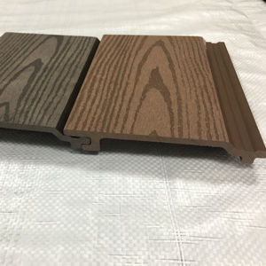 Foshan wood texture wpc outdoor wall cladding
