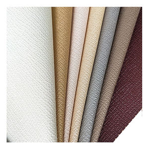 Design White Grey Brown Soft Faux Leather for Wall Furniture Upholstery