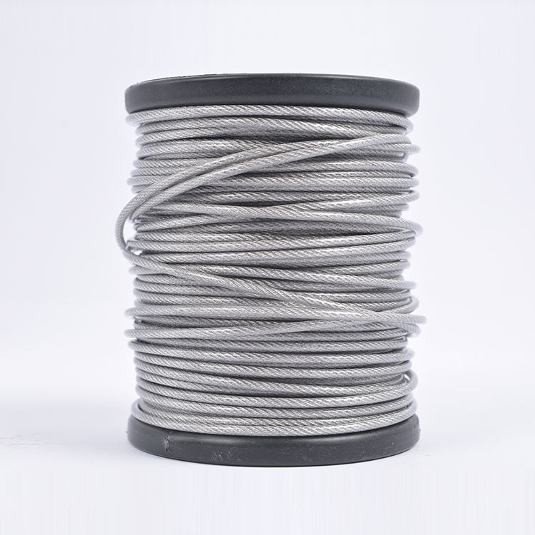 Nickel white diameter 0.3mm-30mm 304 stainless steel wire rope