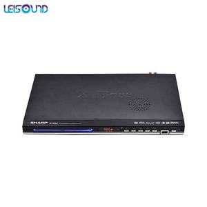 LEISOUND Built-In FM Radio Home DVD Player With Mic Microphone