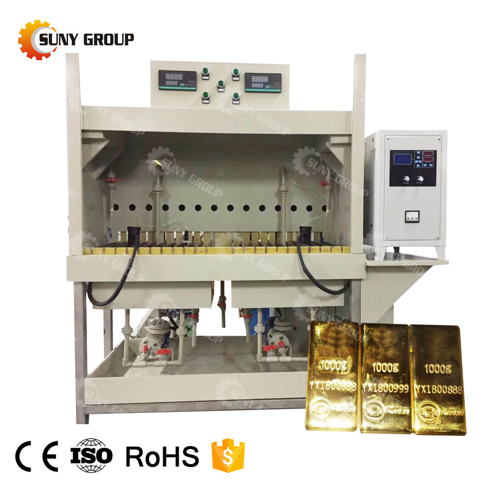 Precious Metal Extraction Refining Machine E waste Gold Recovery Plant