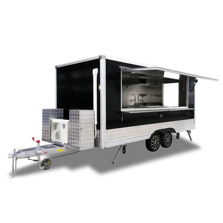 Ukung Customized food truck with many kinds of kitchen equipments inside