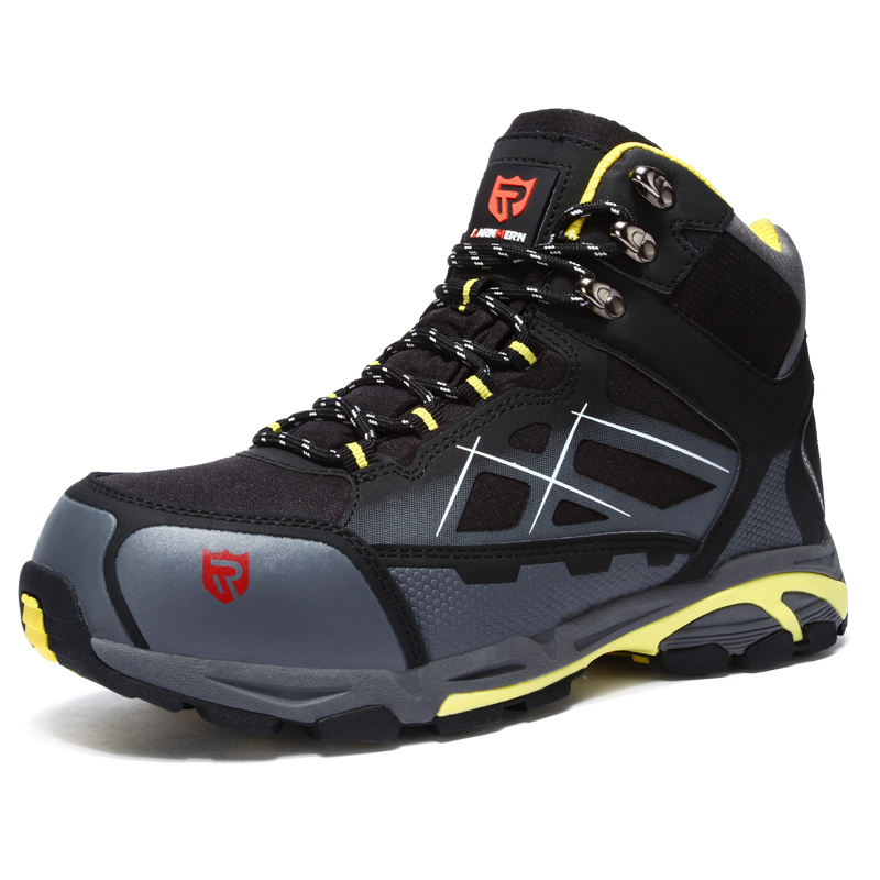 LARNMERN Steel Toe Skate Shoes Breathable Work shoes Anti-smashing Anti-puncture Safety Shoes