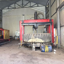 full automatic waste tyre recycling machine used to make rubber powder / granule