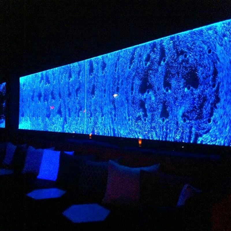 LED wasserfall panel nacht club bar dekoration/bar und lounge möbel