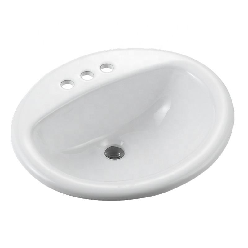 Bathroom counter top ceramic art wash basin above counter vanity basin for hotel