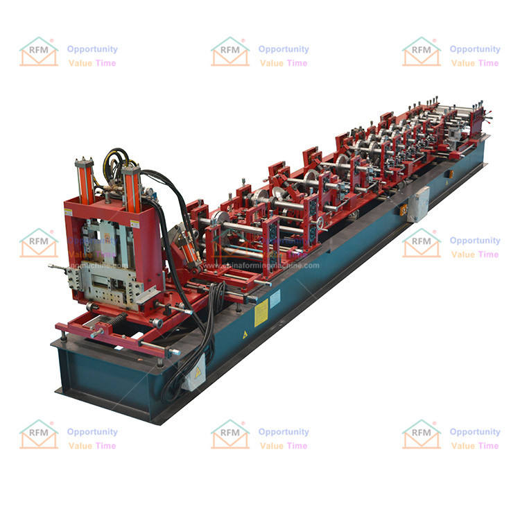 Germany assured quality c z automatic changing cz interchangeable purline roll making forming machine