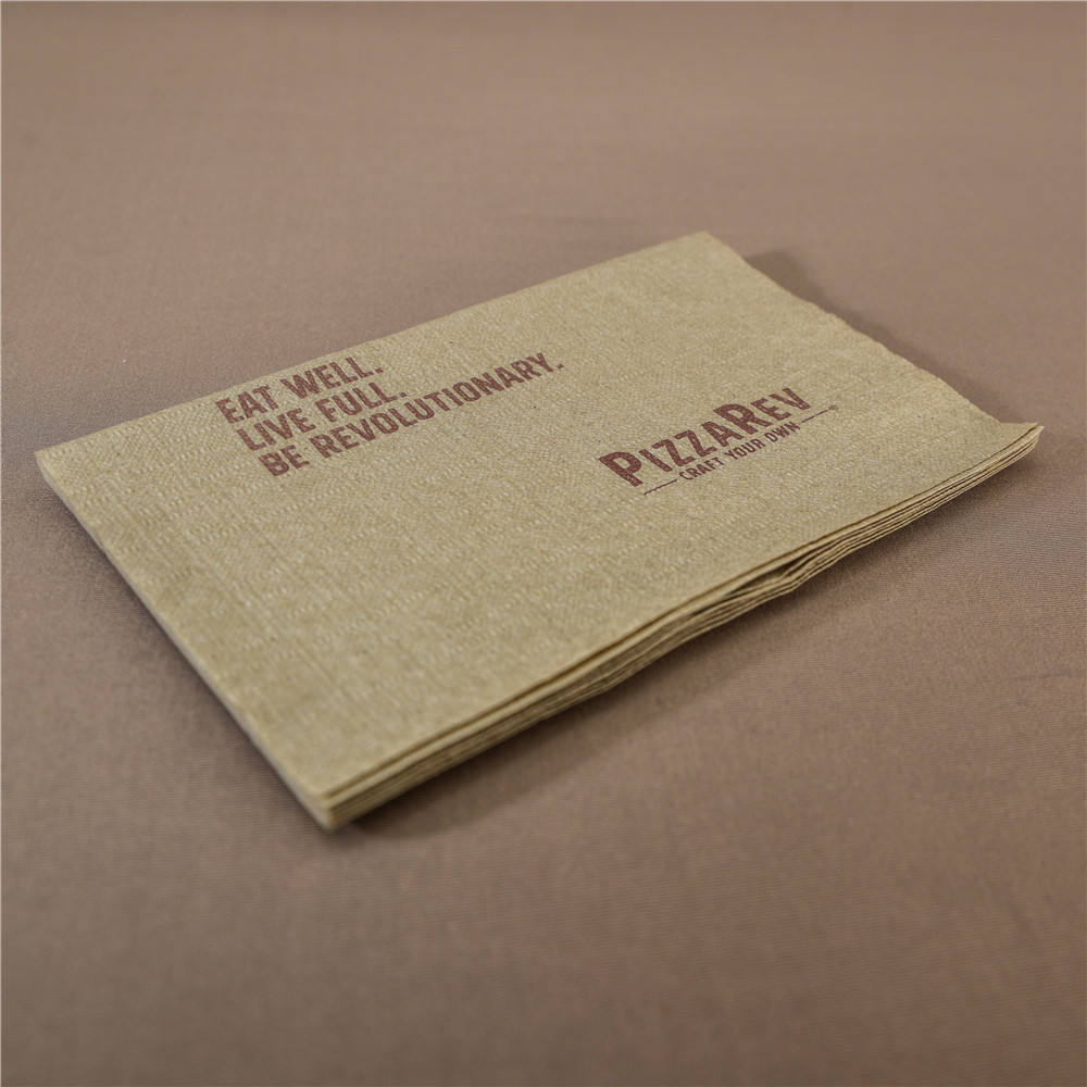 2 Ply [ Paper Napkins ] Interfold Paper Napkins High Quality Kraft Paper Interfolded Napkins