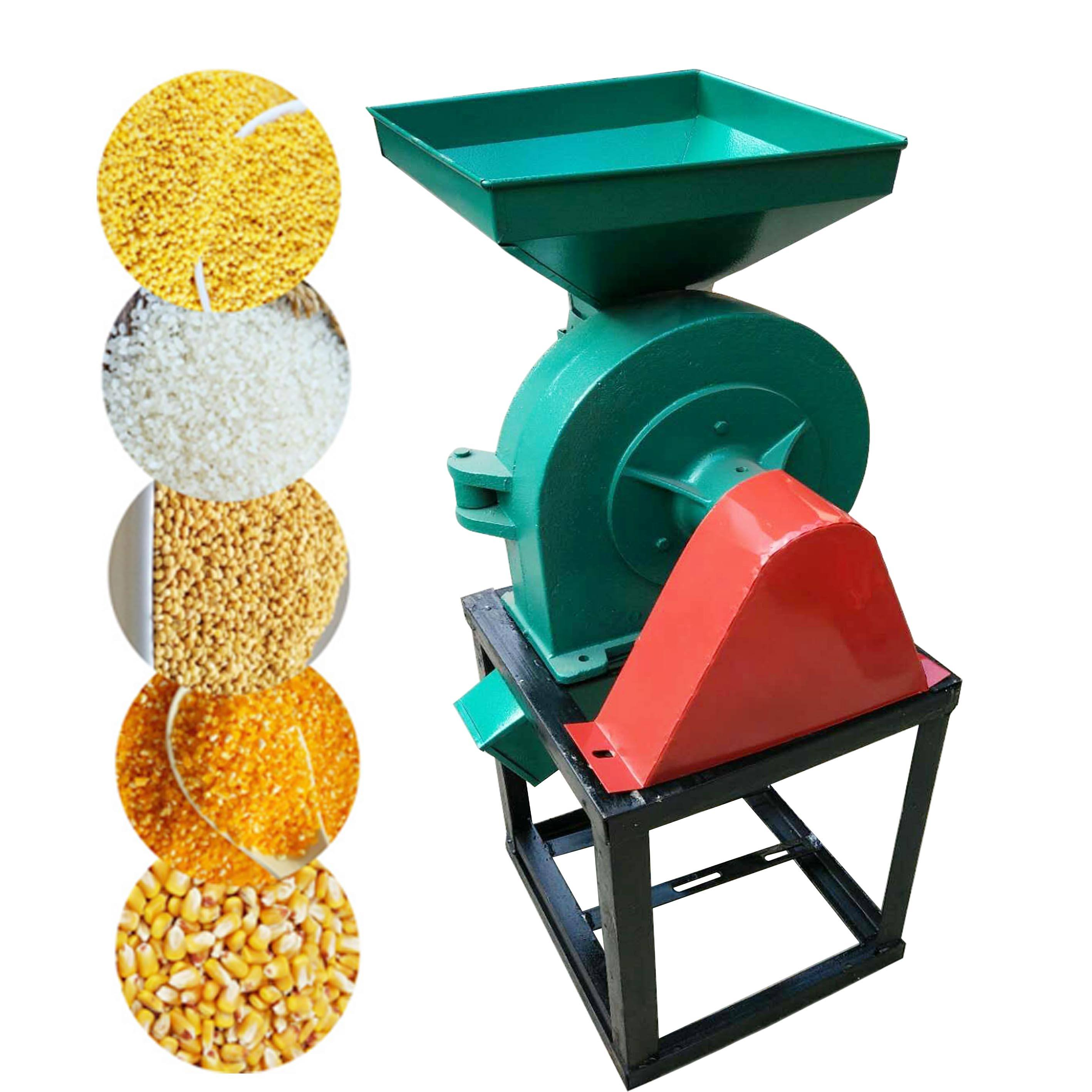 Factory electric or diesel organic powder grain seed wheat flour mill price