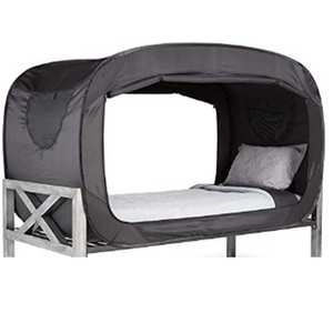 Portable Adult Twin Bed Tent Privacy Pop Up Bed Tent
