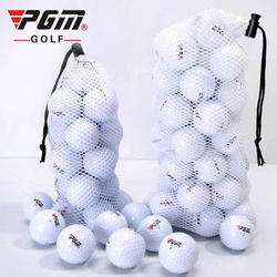 Brand 2 layer golf balls with golf ball bags