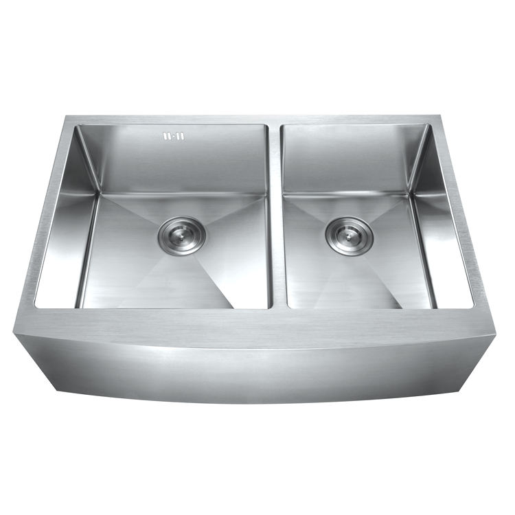 Sanitary ware hand made stainless steel apron front sinks best standards farmhouse kitchen sink