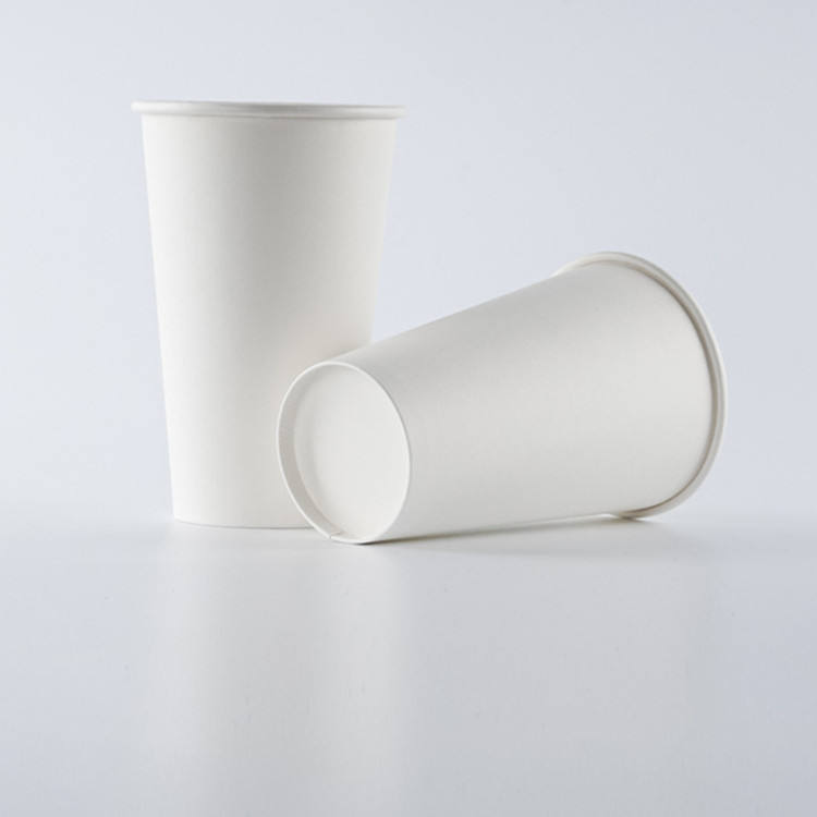 Single wall paper cup for cold drinks