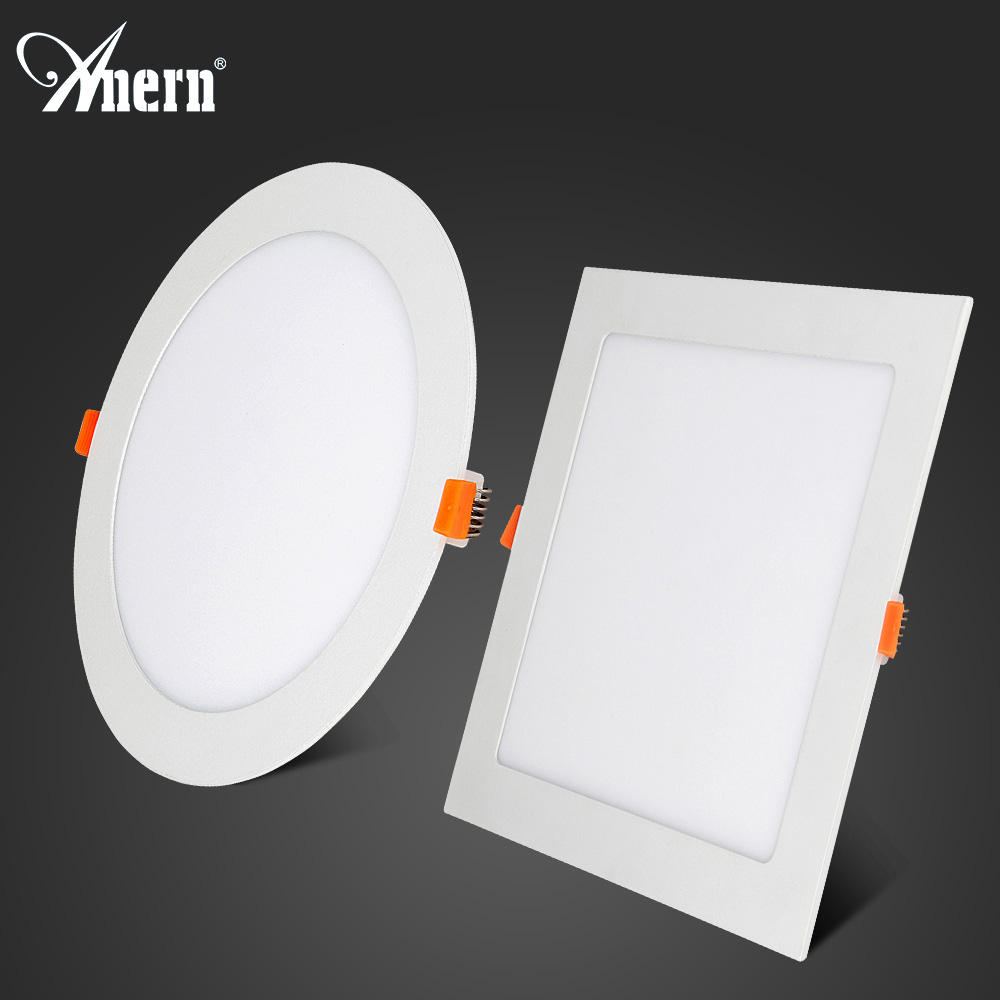 Anern 3 w 5 w 7 w 12 w 15 w 18 w led ultra sottile da incasso downlight