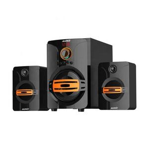 Audmic DJ Sound Sistem Speaker dengan Bluetooth Teknik Sistem Home Theater