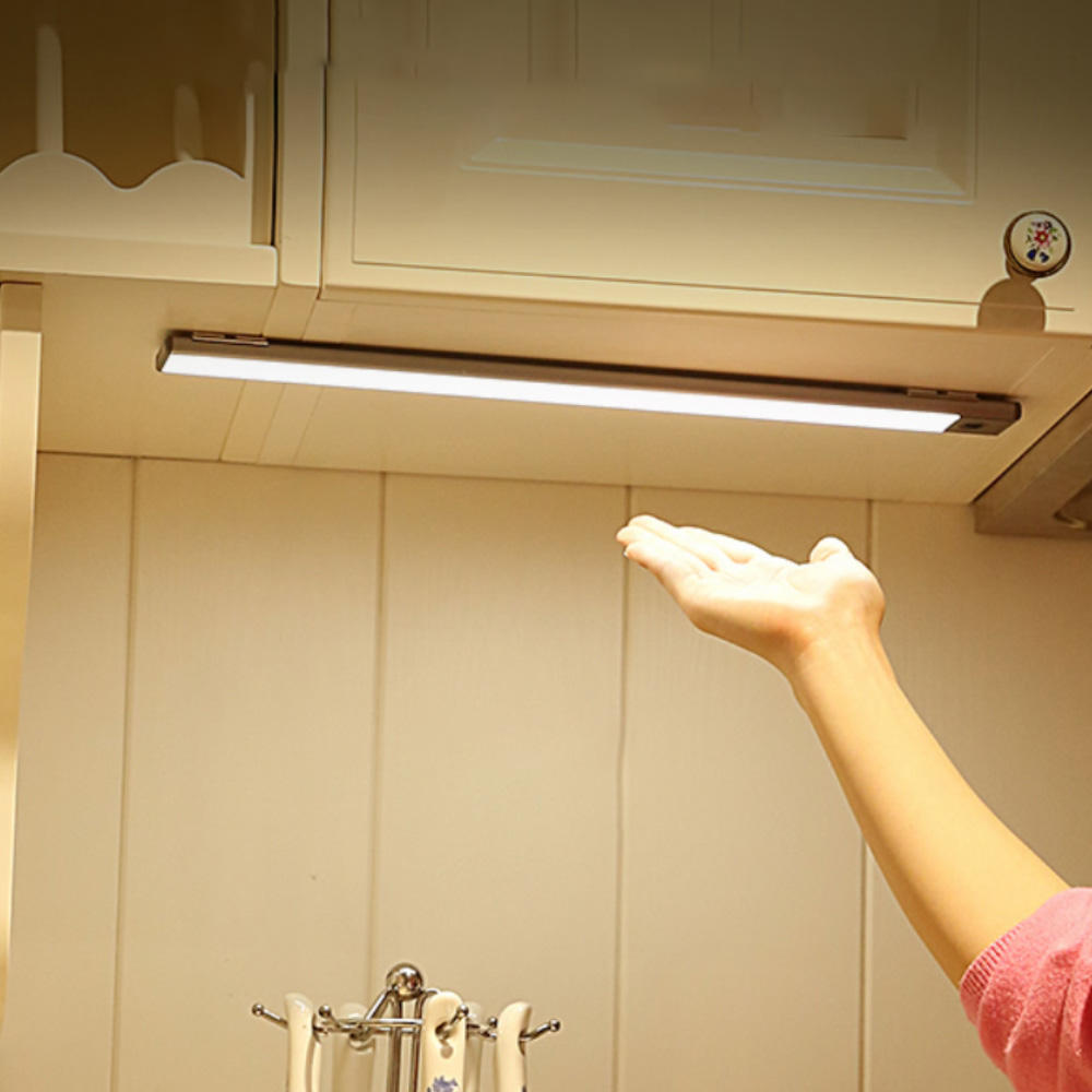 Stick-on Anywhere LED Closet Light Motion Activated Cordless Under Cabinet Sensor Light