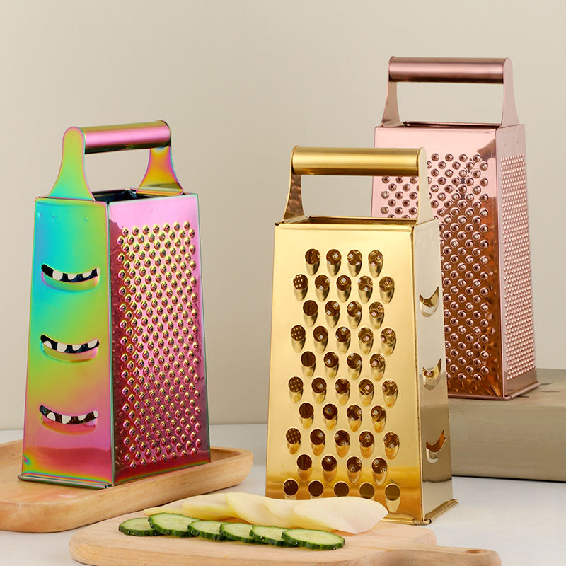 High Quality Multifunctional Stainless Steel Multi Functions Kitchen Accessories Flat Food Grater