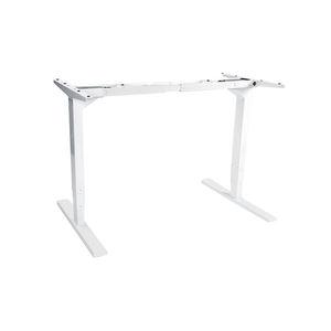 Simple design hurdy i shape office table height adjustable desk